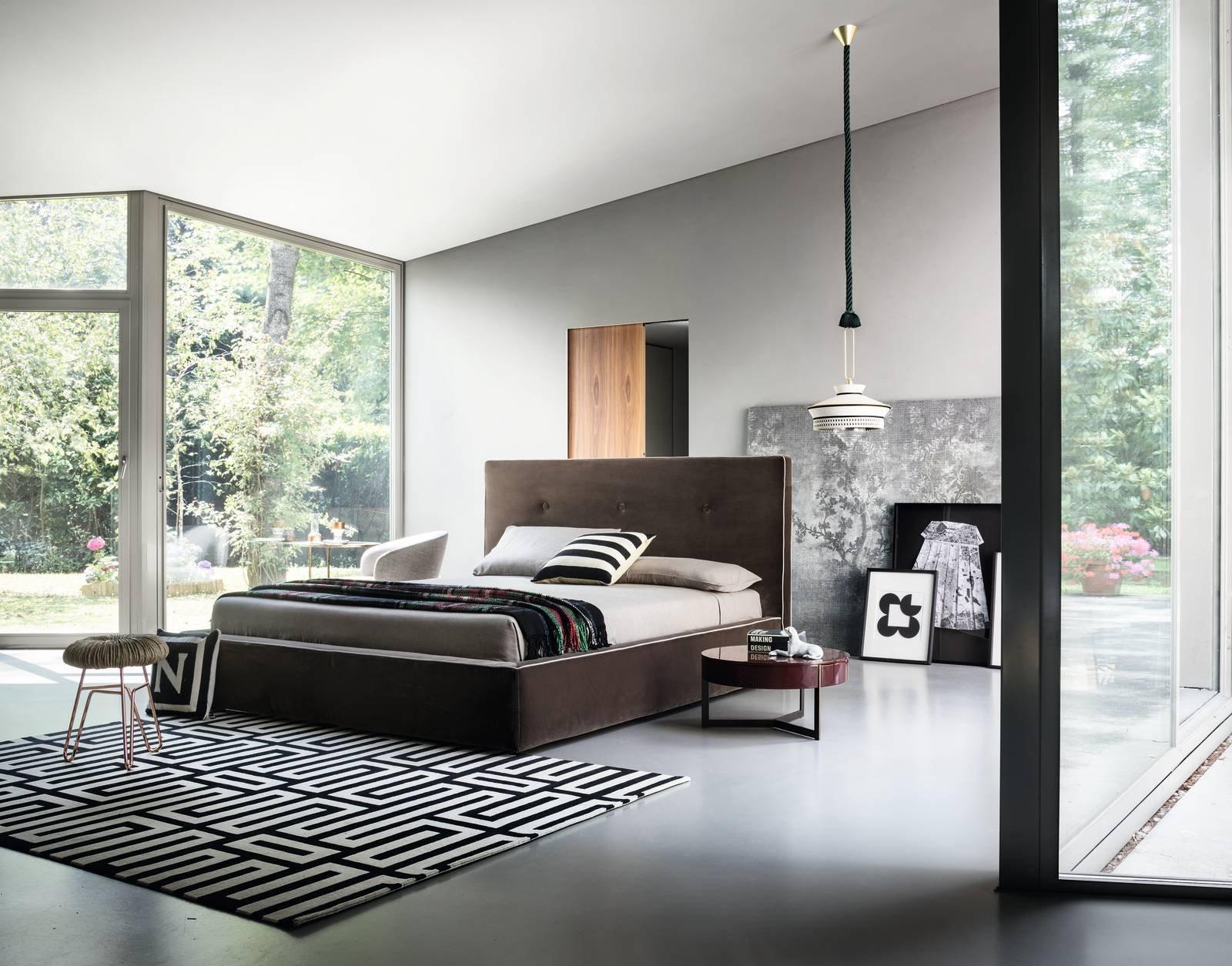 Letti imbottiti lema eleganza evergreen cose di casa - Lema mobili listino prezzi ...