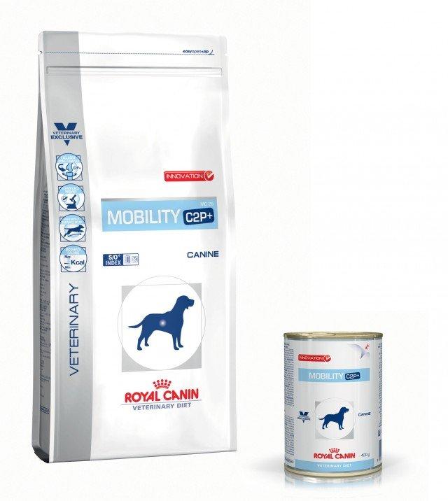 La gamma Mobility C2P+ di Royal Canin fornisce una soluzione nutrizionale appositamente studiata per contribuire al recupero di una mobilità attiva nel cane. Grazie all'azione combinata di tre elementi (curcumina, collagene idrolizzato e polifenoli del tè verde), contribuisce a ridurre l'infiammazione e quindi il dolore, favorendo il recupero di una vita attiva. Mobility C2p+ , umido, confezione da 400 g costa 4,10 euro Mobility C2P +, secco, confezione da 2 kg costa 24,50 euro; da 7 kg costa 65,80 euro; da 12 kg costa 97,90 euro