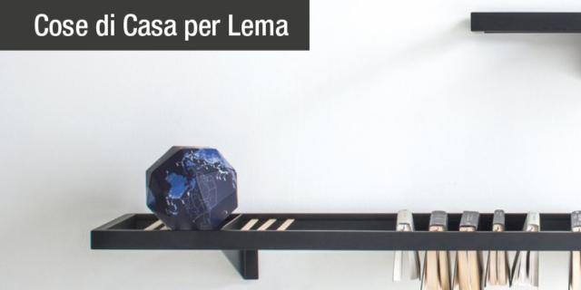 Mini librerie, pouf, madie: regaliamoci il design Lema