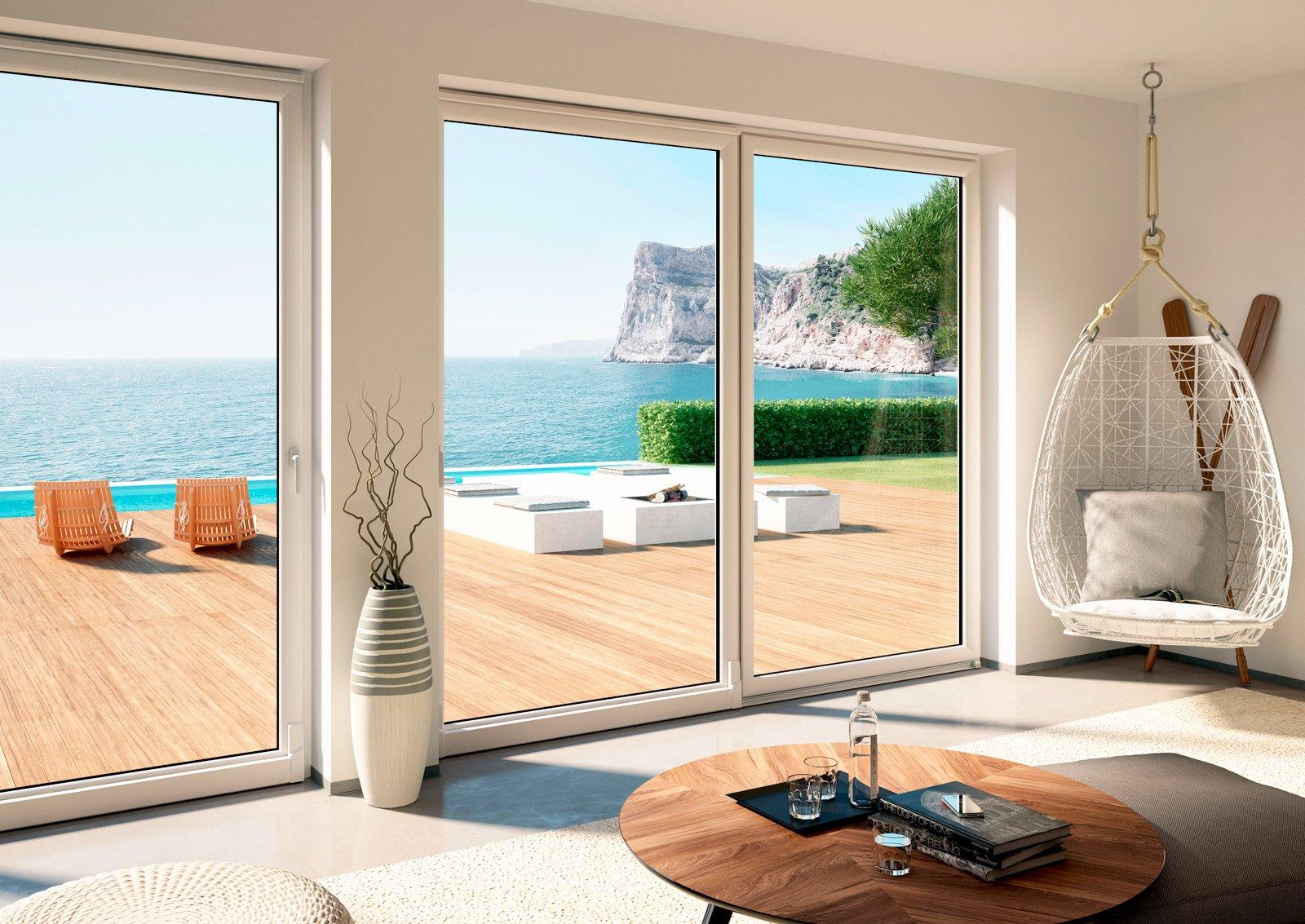 Portefinestre scorrevoli le performance di alzanti e for Misure standard finestre e portefinestre
