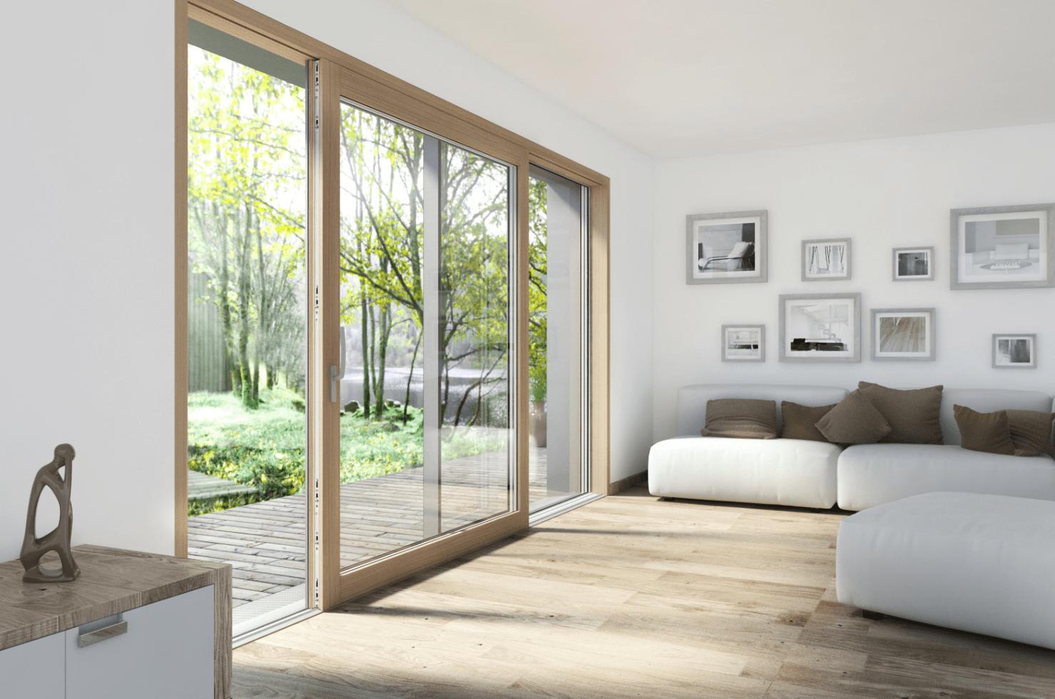 Finestre nuove tecnologie per comfort sicurezza e - La casa con le finestre che ridono ...