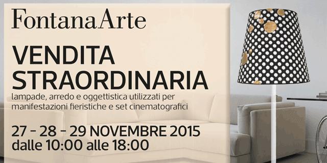 FontanaArte: la consueta vendita straordinaria di fine anno - Cose ...