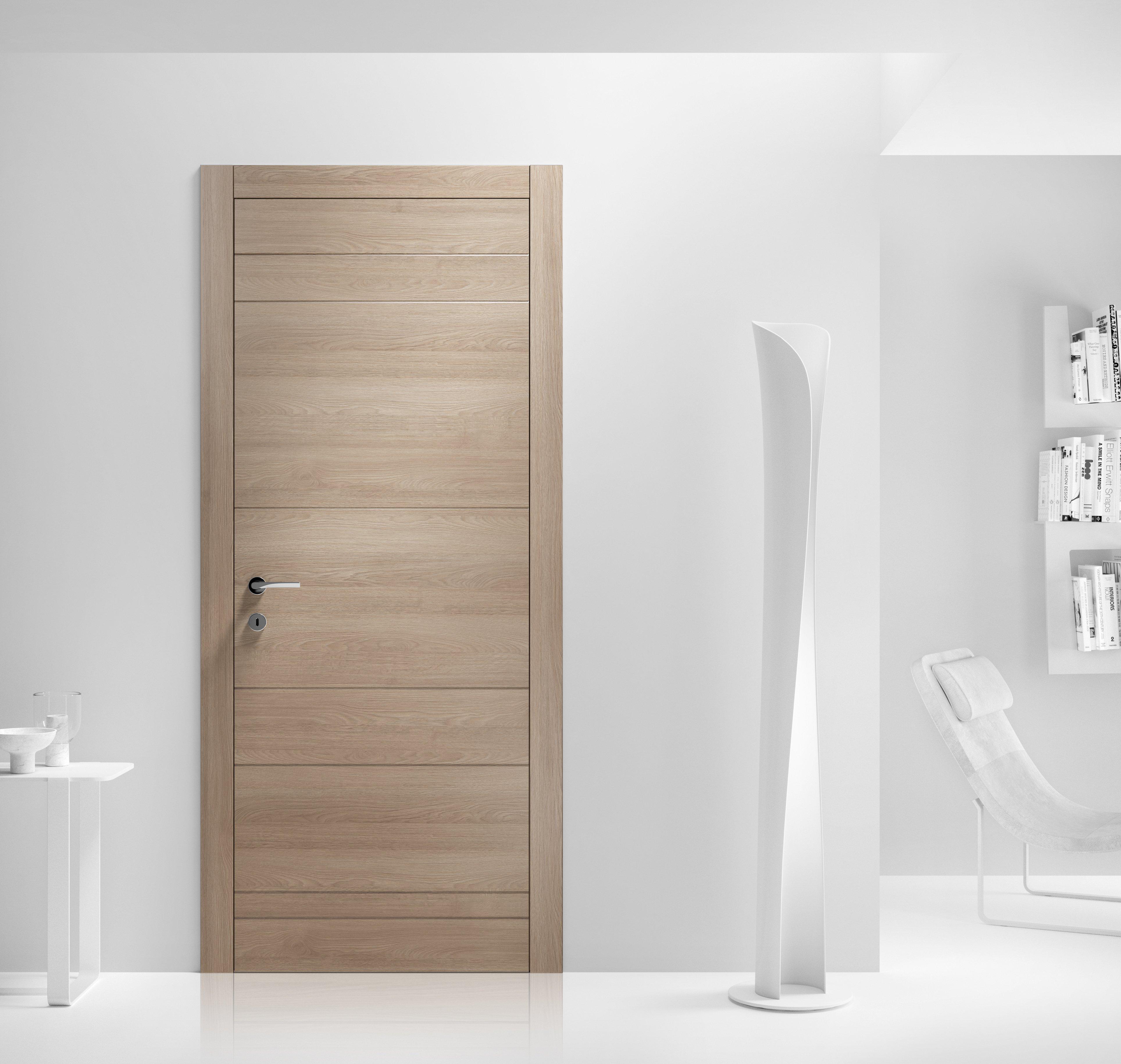 Porte a battente tinta legno laccata o decor cose di casa for Porte della casa di tronchi