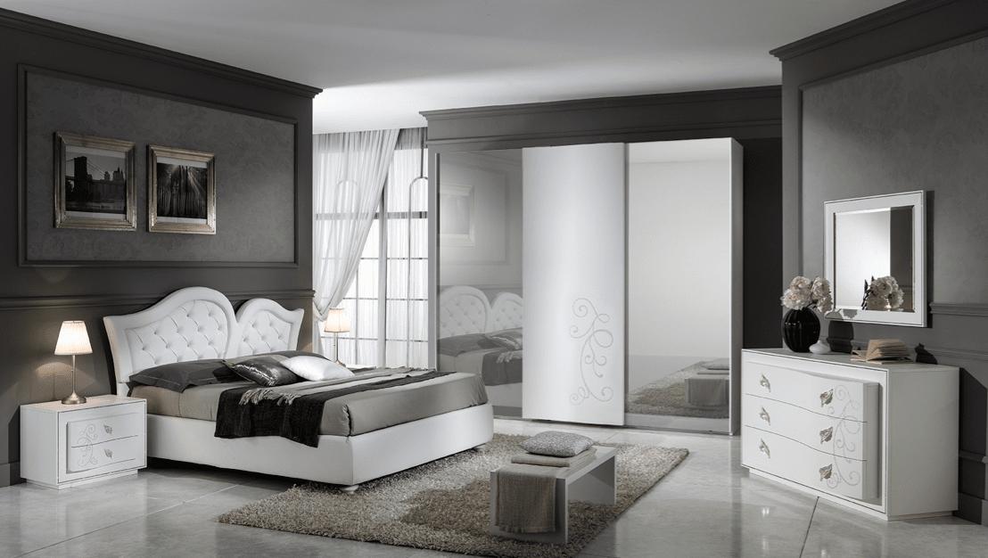 Camera da letto tessile ma non solo anche da regalare - Casa stile contemporaneo ...