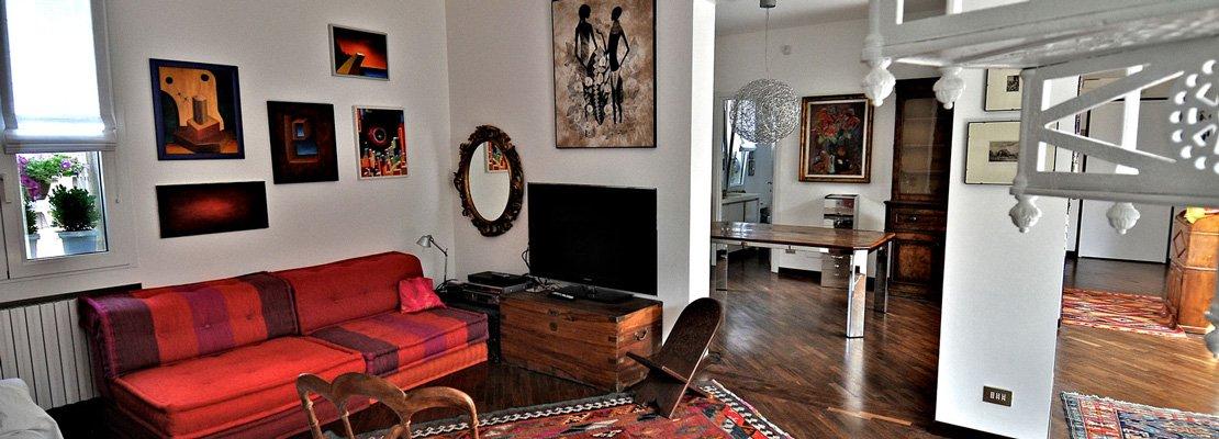 130 mq con mansarda un appartamento all 39 ultimo piano raddoppia sfruttando il sottotetto cose - Conviene comprare casa all ultimo piano ...