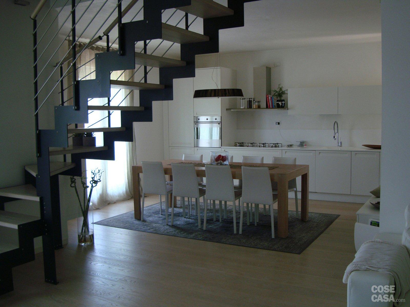 120 mq su due piani con mansarda cose di casa