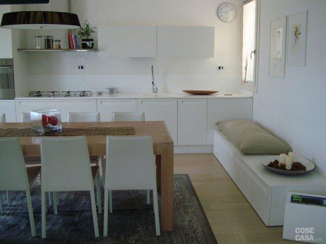 Tappeto Per Divano Bianco : Mq su due piani con mansarda cose di casa