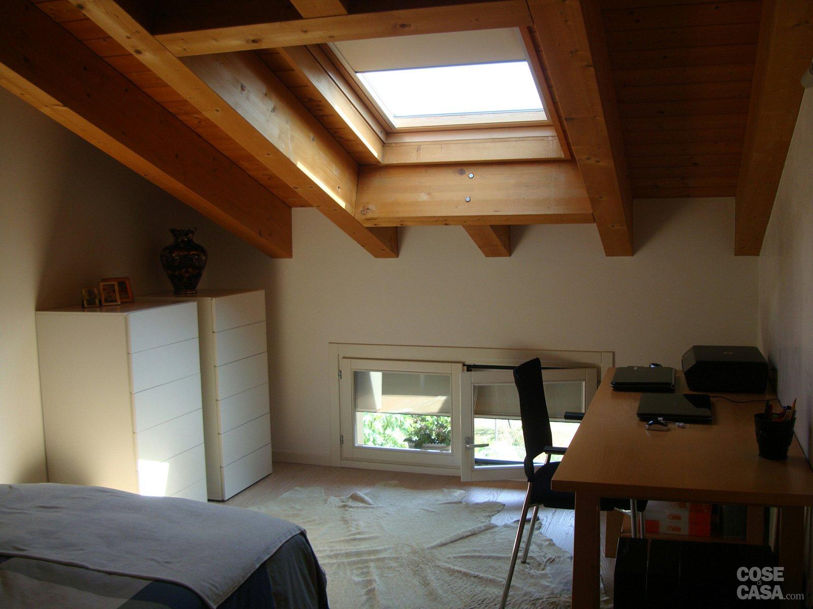 120 mq su due piani con mansarda - Cose di Casa