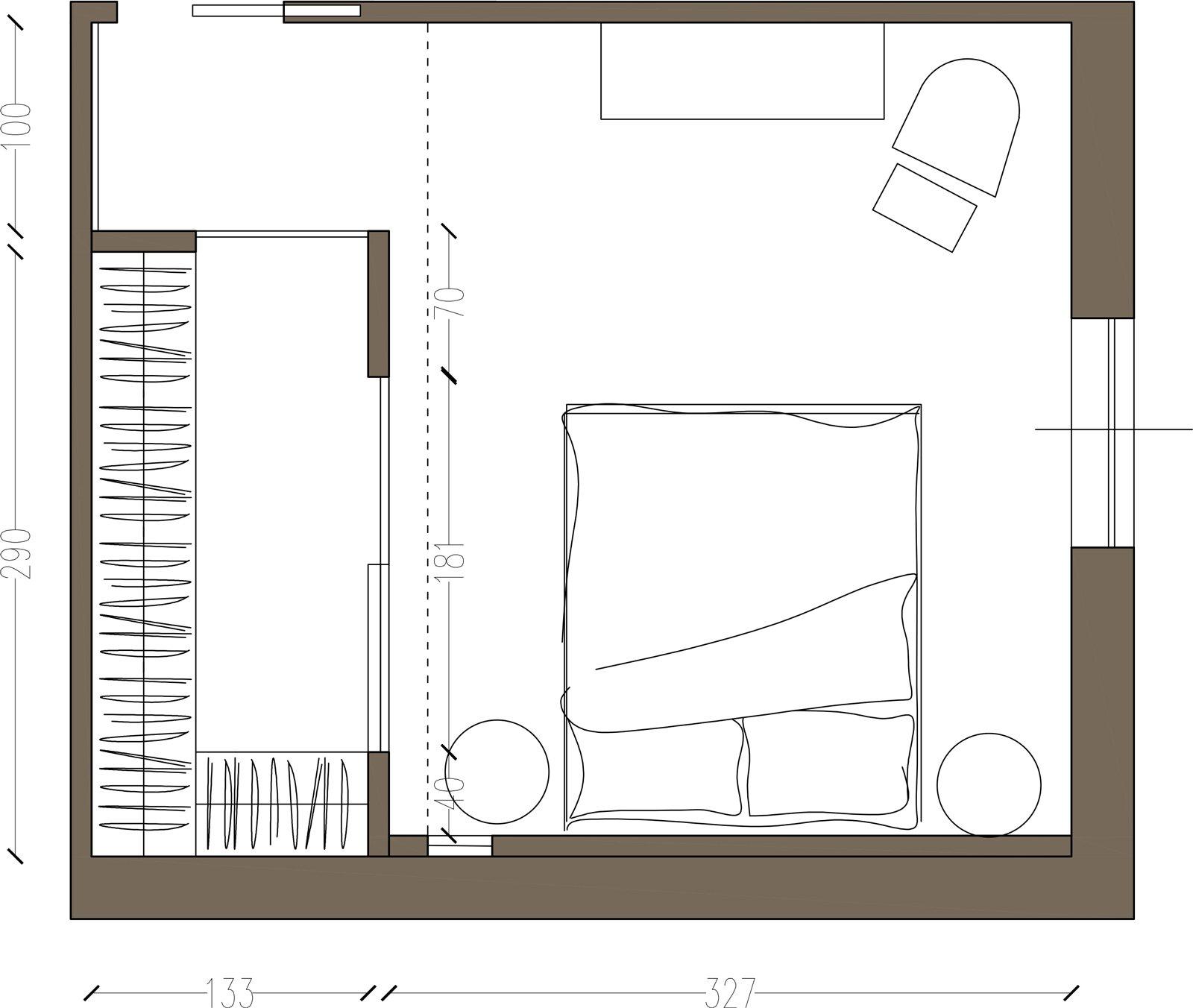 Cabina armadio due soluzioni per ricavarla cose di casa - Misure cabine armadio ...