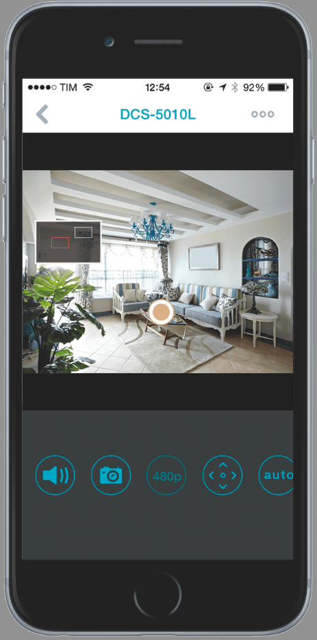 screenshot iPhone 6 Monitor 360