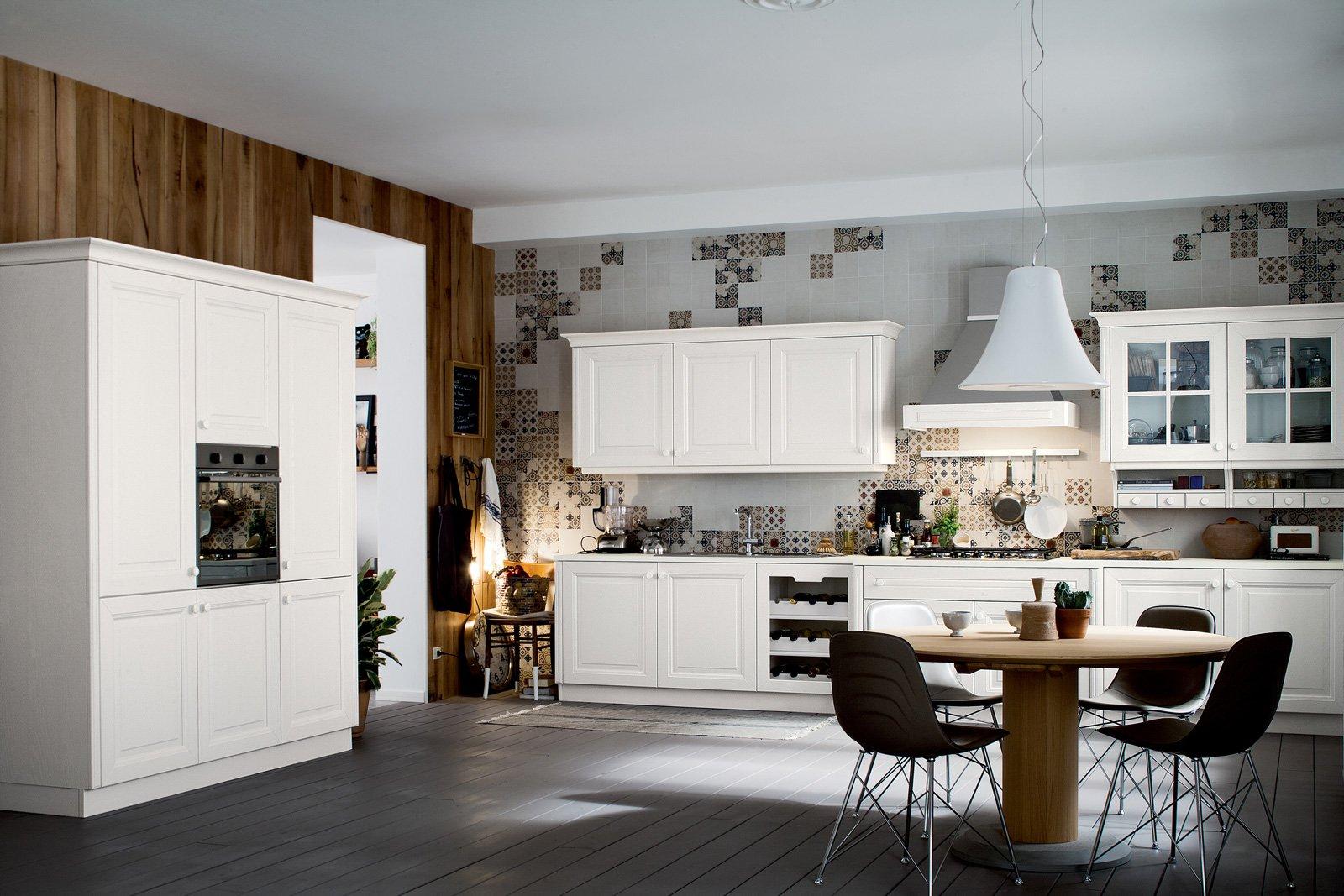 Cucine con ante riquadrate o a telaio cose di casa for Disegni di casa piano aperto