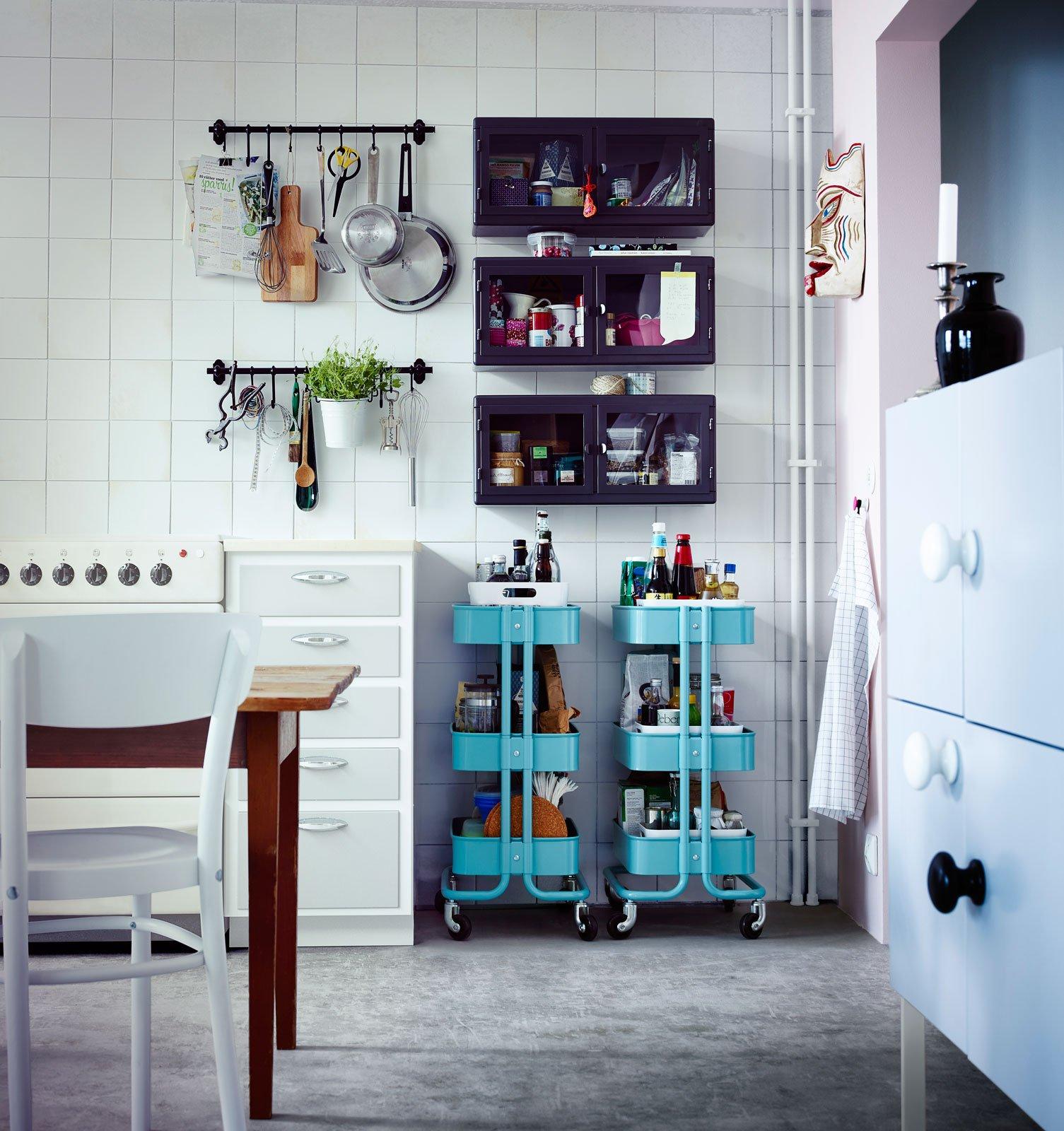 Carrelli per la casa jolly imperdibili anche salvaspazio cose di casa - Carrelli per cucina ikea ...