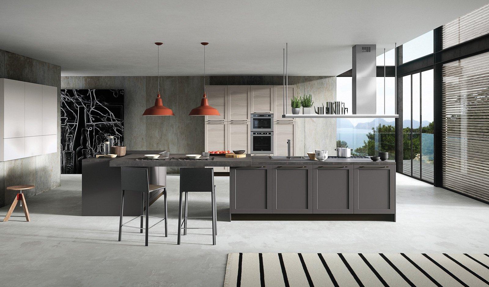 Cucine con ante riquadrate o a telaio cose di casa - Arredo 3 cucine ...