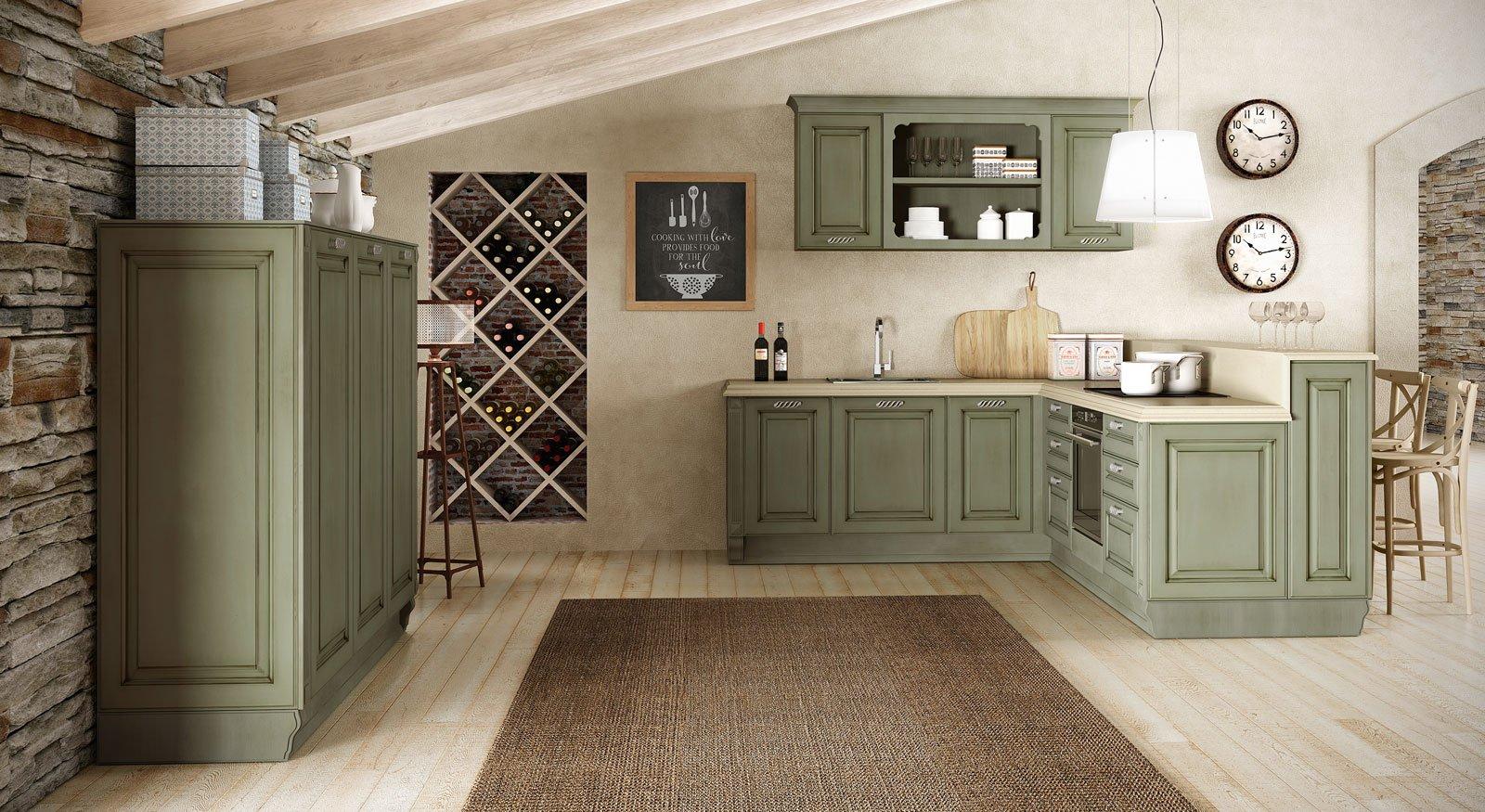 Cucine in colori ed essenze soft cose di casa - Colori in cucina ...