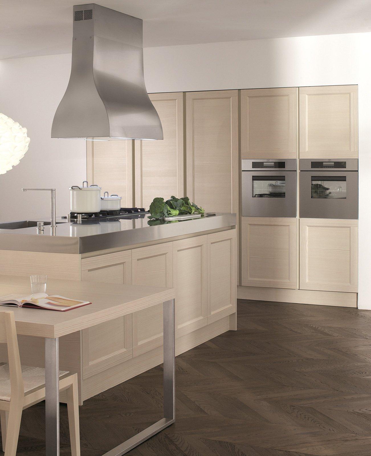 cucine con ante riquadrate o a telaio - cose di casa - Cucine Doimo Prezzi