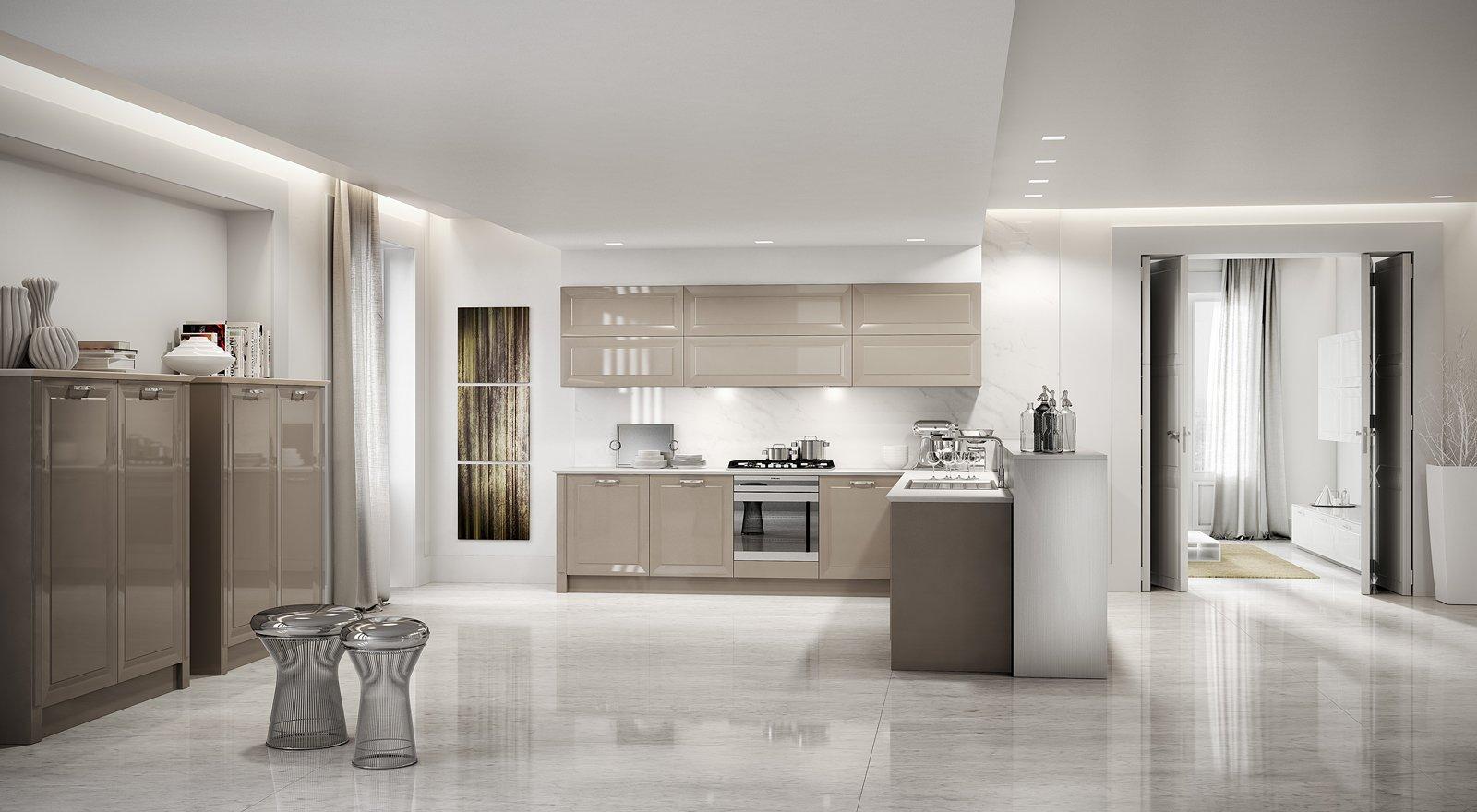 Cucine con ante riquadrate o a telaio cose di casa for Immagini di casa