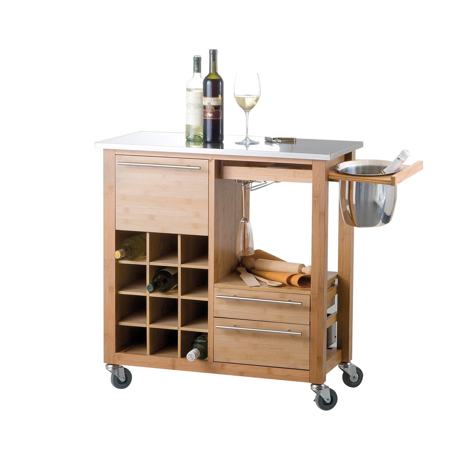 art 57192 di brandani un modello dotato di una comoda cantinetta per il vino