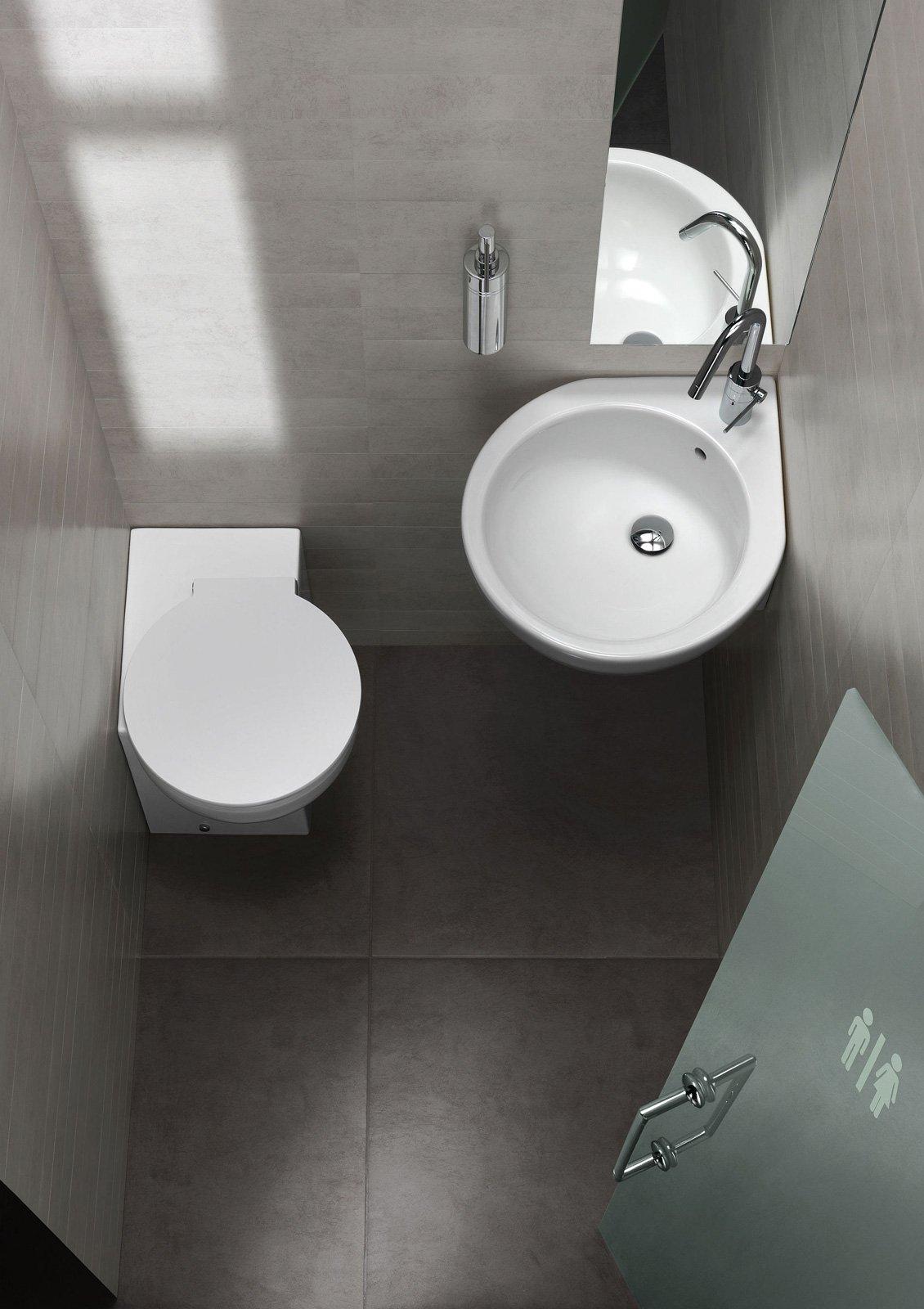 Salvaspazio per il bagno water e bidet piccoli cose di casa - Dimensioni water piccolo ...