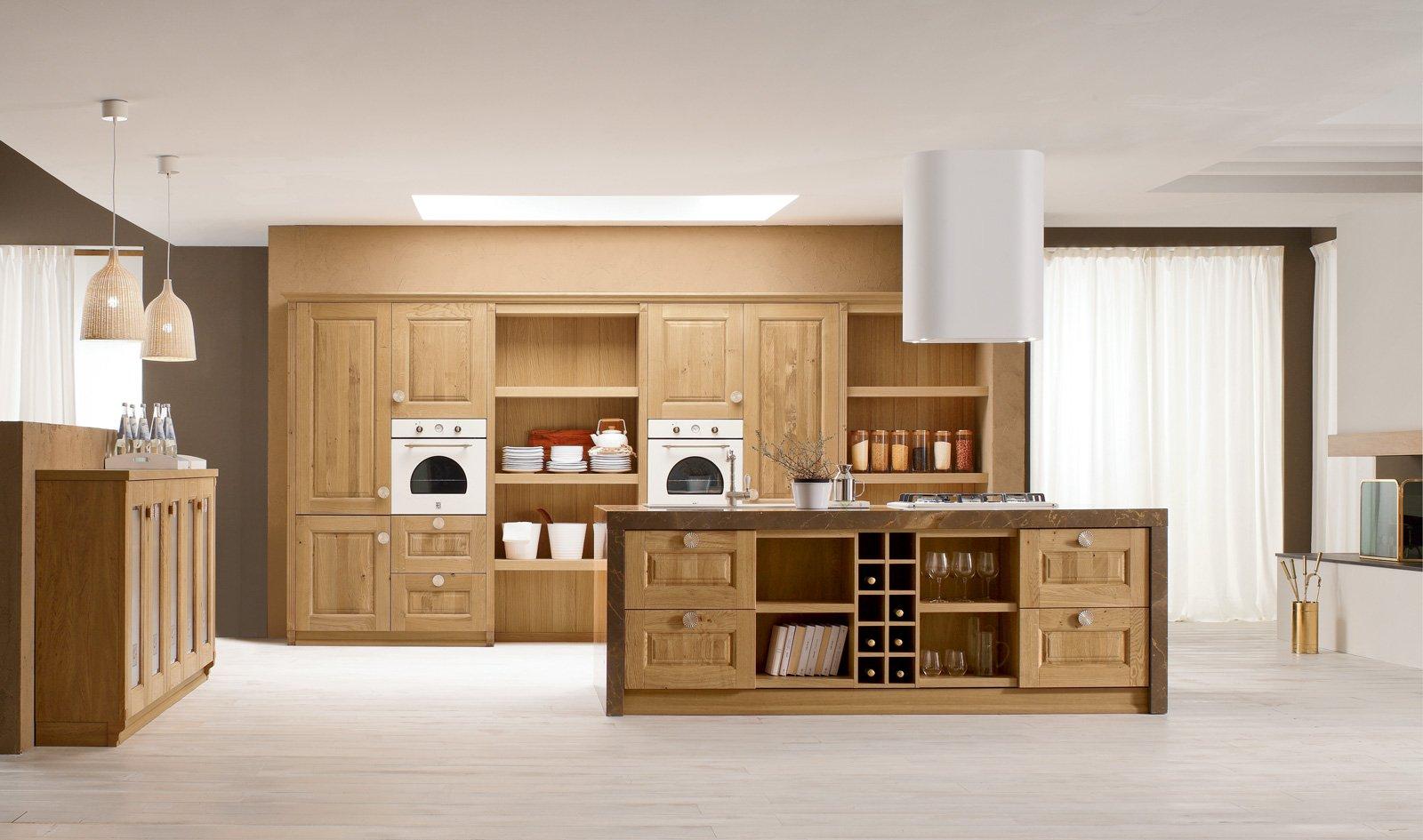 Telaio Per Ante Cucina Muratura.Cucine Con Ante Riquadrate O A Telaio Cose Di Casa