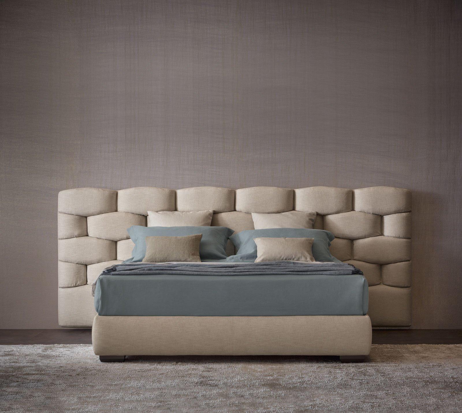 Letti tessili a parete e anche a centro stanza cose di casa - Ikea tessili letto ...