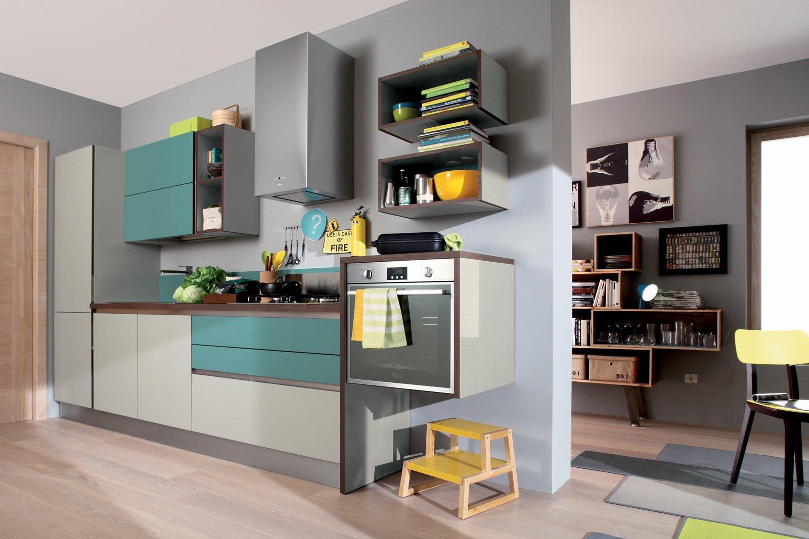 Parete Colorata Cucina. I Colori Giusti Per Le Diverse Essenze Di ...