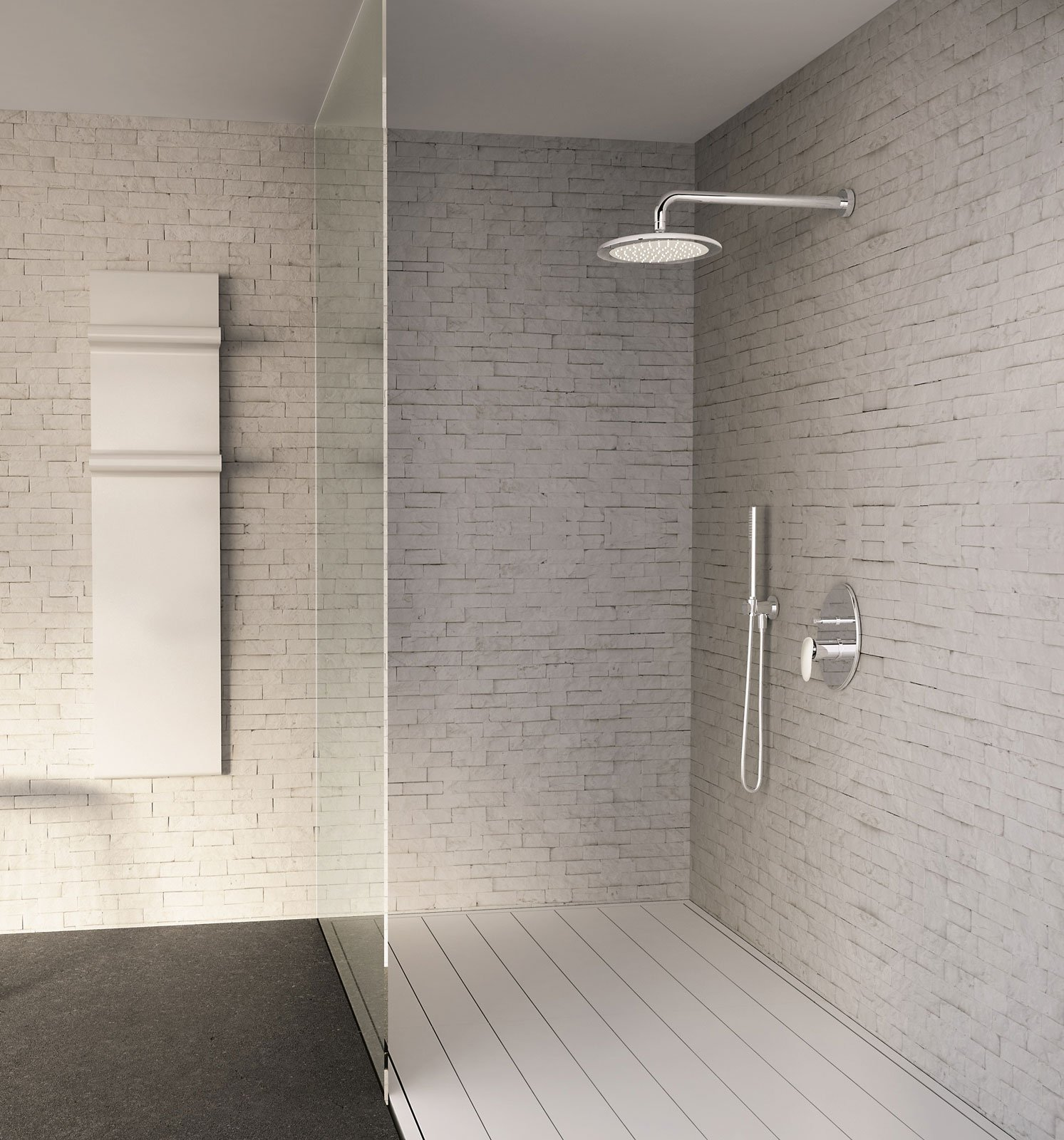 Gruppo doccia soffioni e doccette una coppia per il - Migliori rubinetti bagno ...