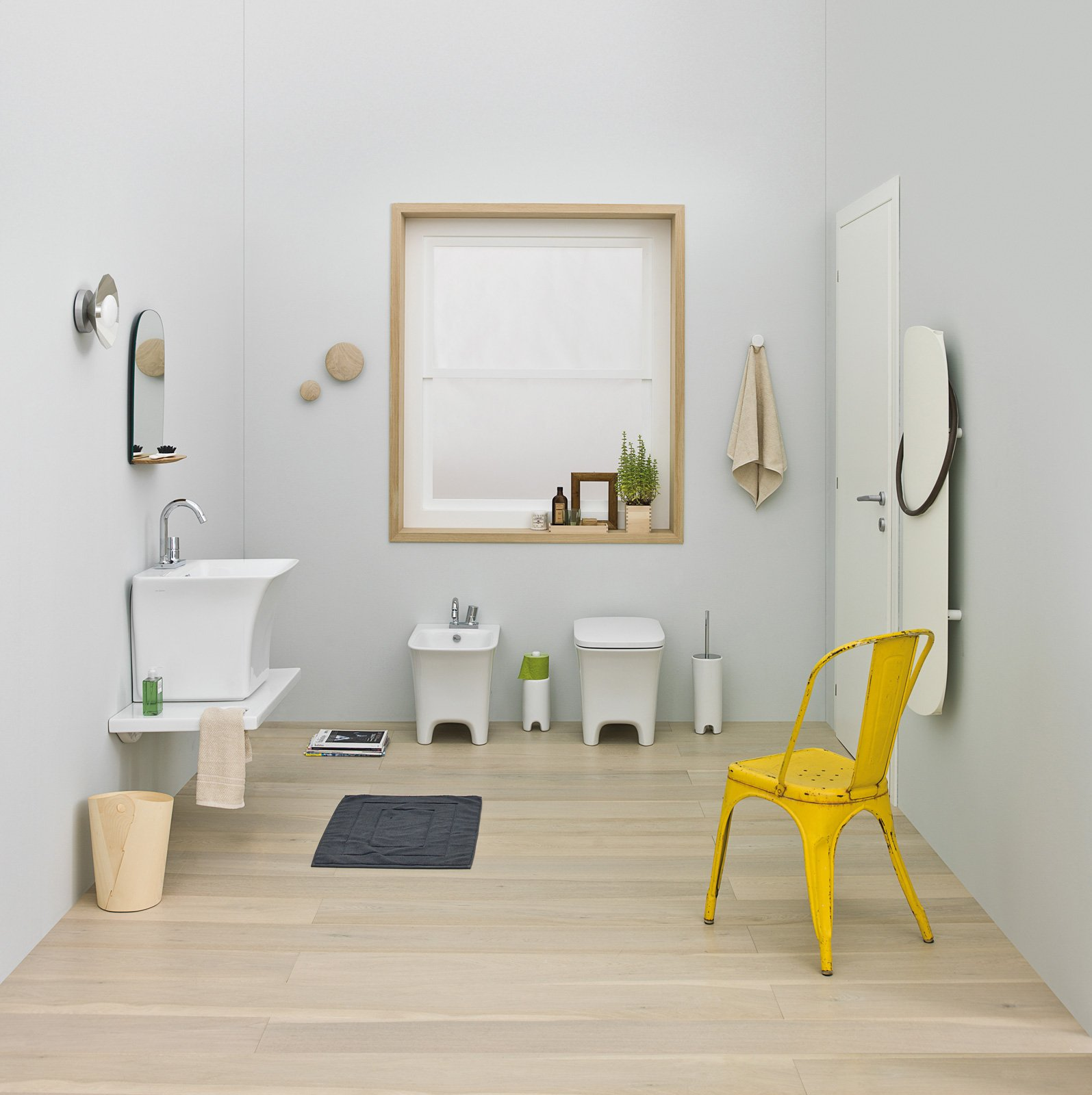 Salvaspazio per il bagno water e bidet piccoli cose di casa for Piccoli disegni di casa