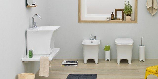 Salvaspazio per il bagno: water e bidet piccoli
