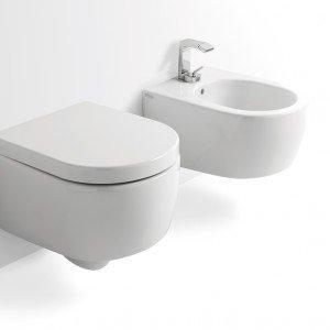 Water Con Bidet Incorporato Ideal Standard.Salvaspazio Per Il Bagno Water E Bidet Piccoli Cose Di Casa