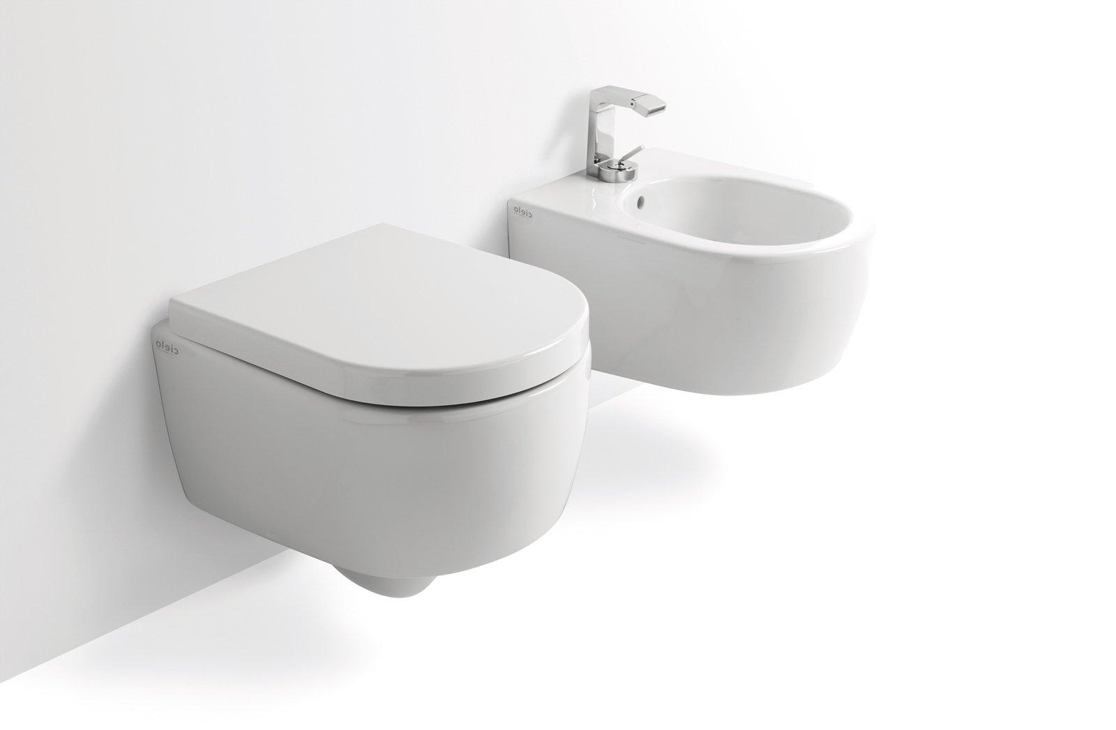 Salvaspazio per il bagno water e bidet piccoli cose di casa for Vaso sospeso