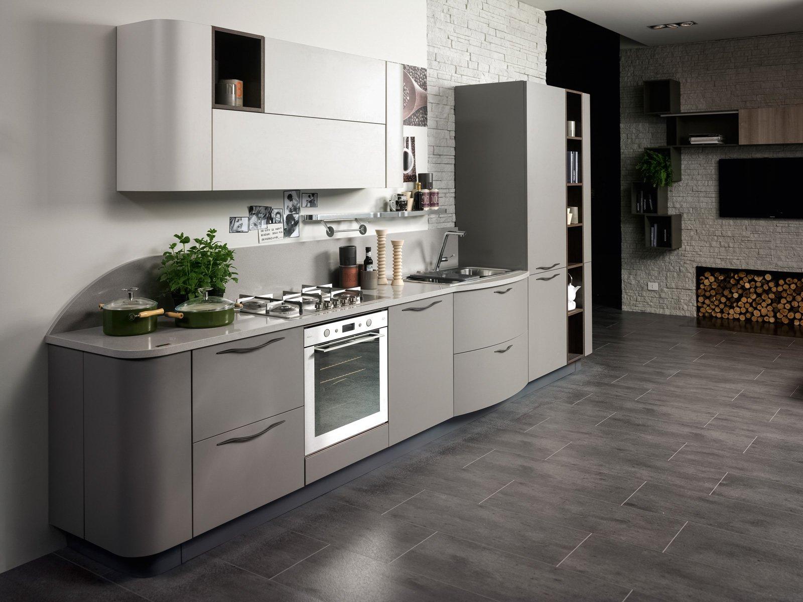 Cucine in colori ed essenze soft cose di casa - Cucine grigio perla ...