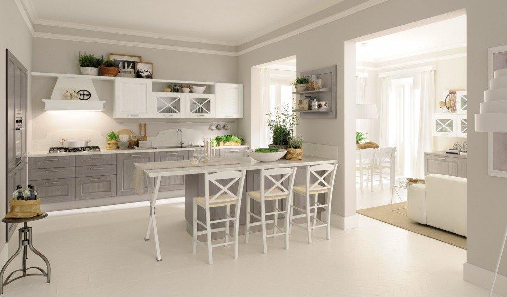Cucine con ante riquadrate o a telaio - Cose di Casa