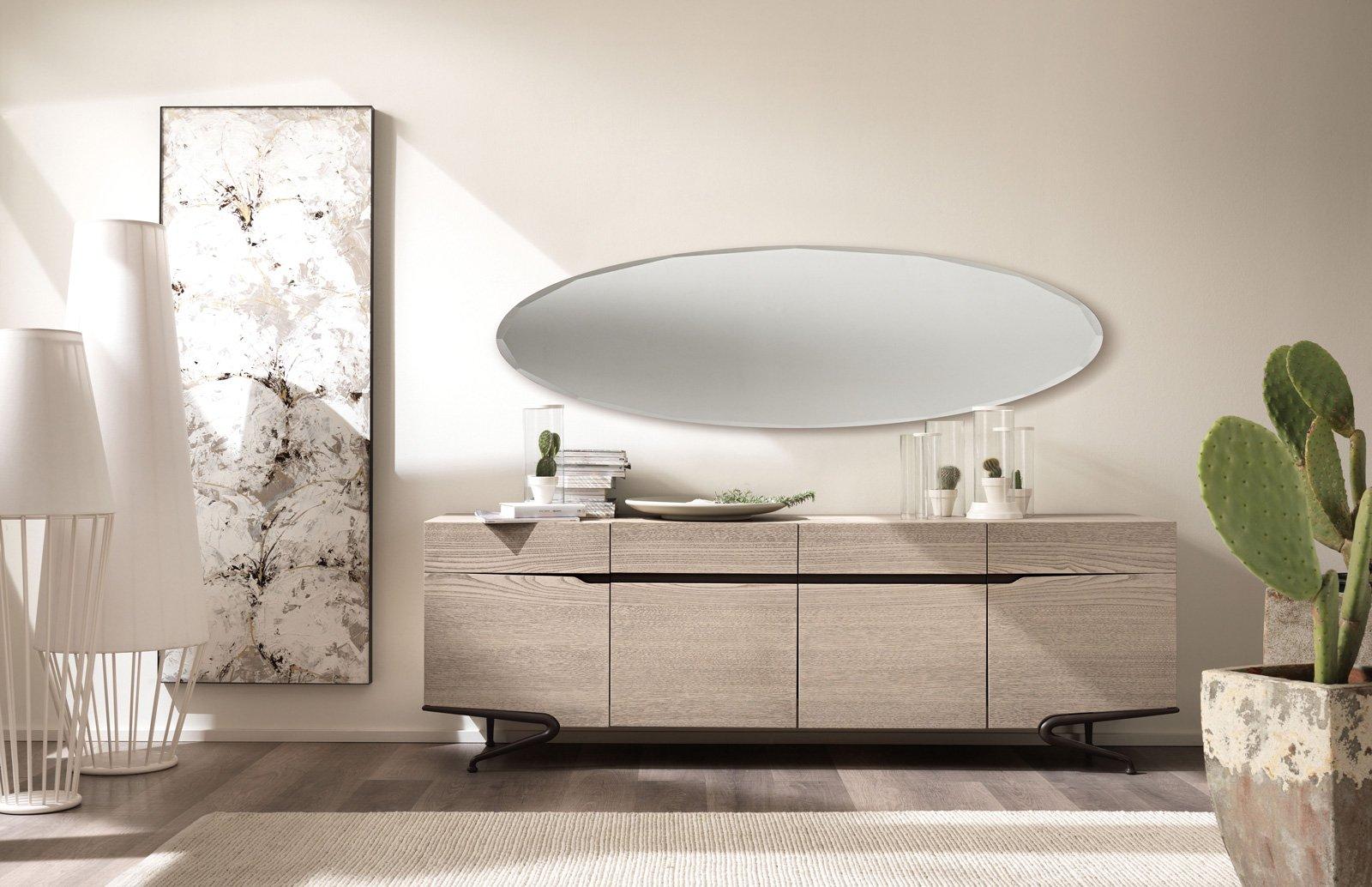 Credenza Moderna Profondità 40 : Mobile basso per il soggiorno: la madia contemporanea cose di casa