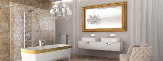 Specchi sopra il lavabo