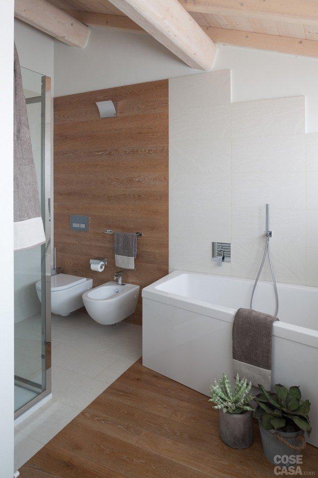 40 105 mq di sottotetto design in contesto d 39 epoca - Bagno nel sottotetto ...