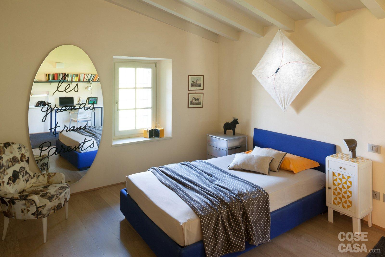 Una casa con ambienti moderni a sfondo rustico cose di casa for Piani e disegni di casa con 2 camere da letto