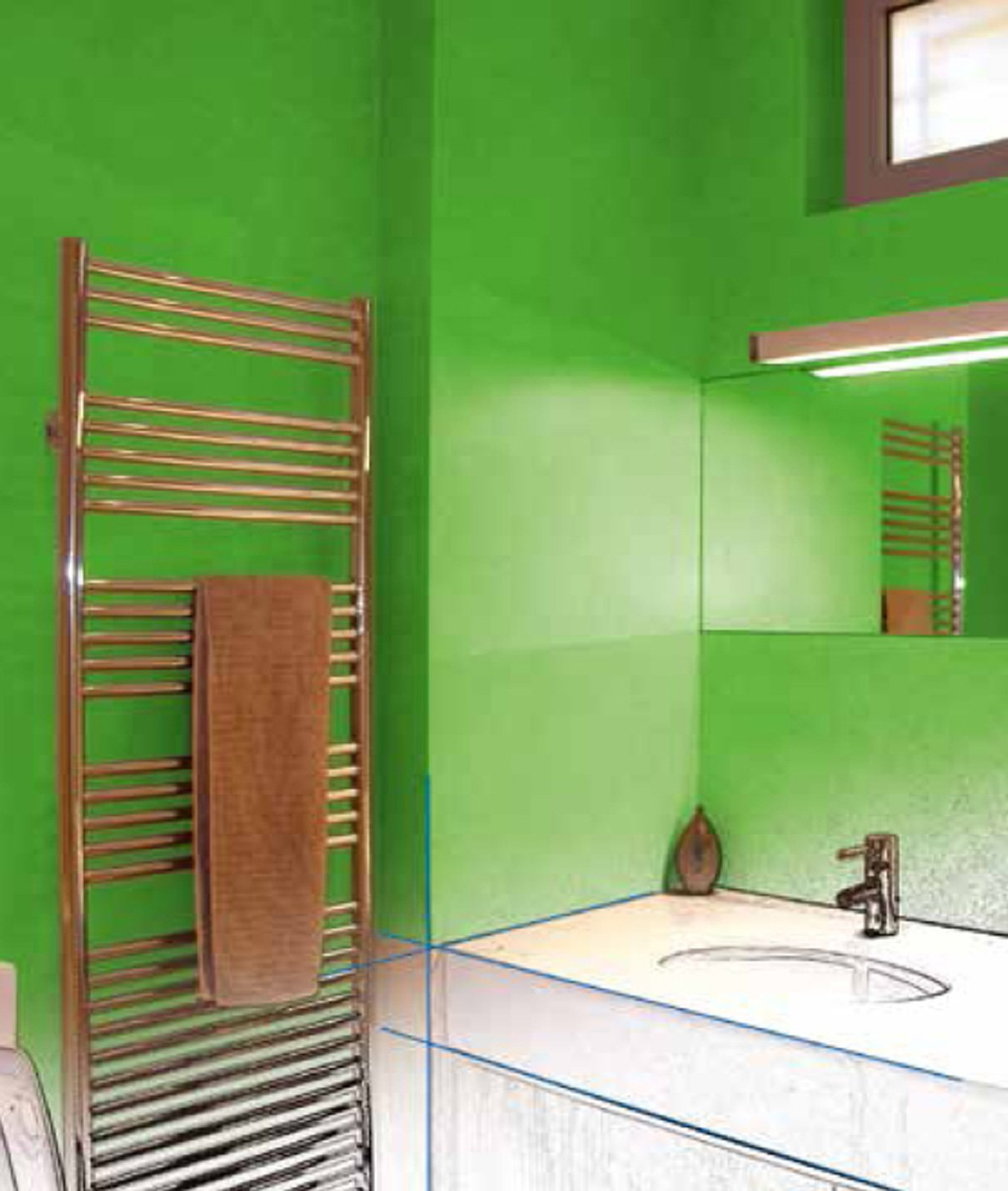 Great eliminare muffa ed dal bagno cose di casa scala for Idee pittura casa