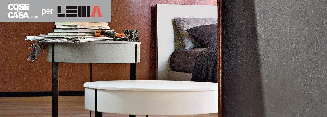 Arredare la camera comodini per ruolo anche i tavolini - Arredare camera studio ...
