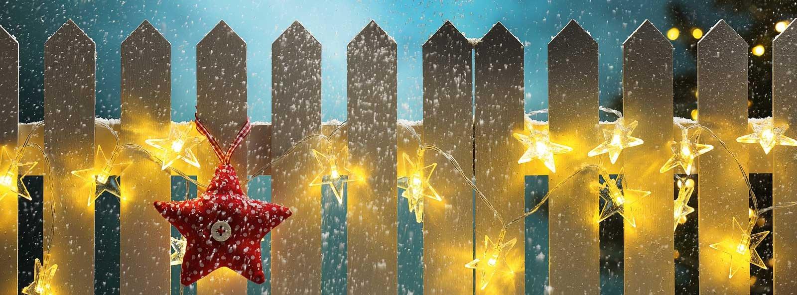 Luminarie natalizie all 39 aperto senza pericolo cose di casa for Design di casa all aperto
