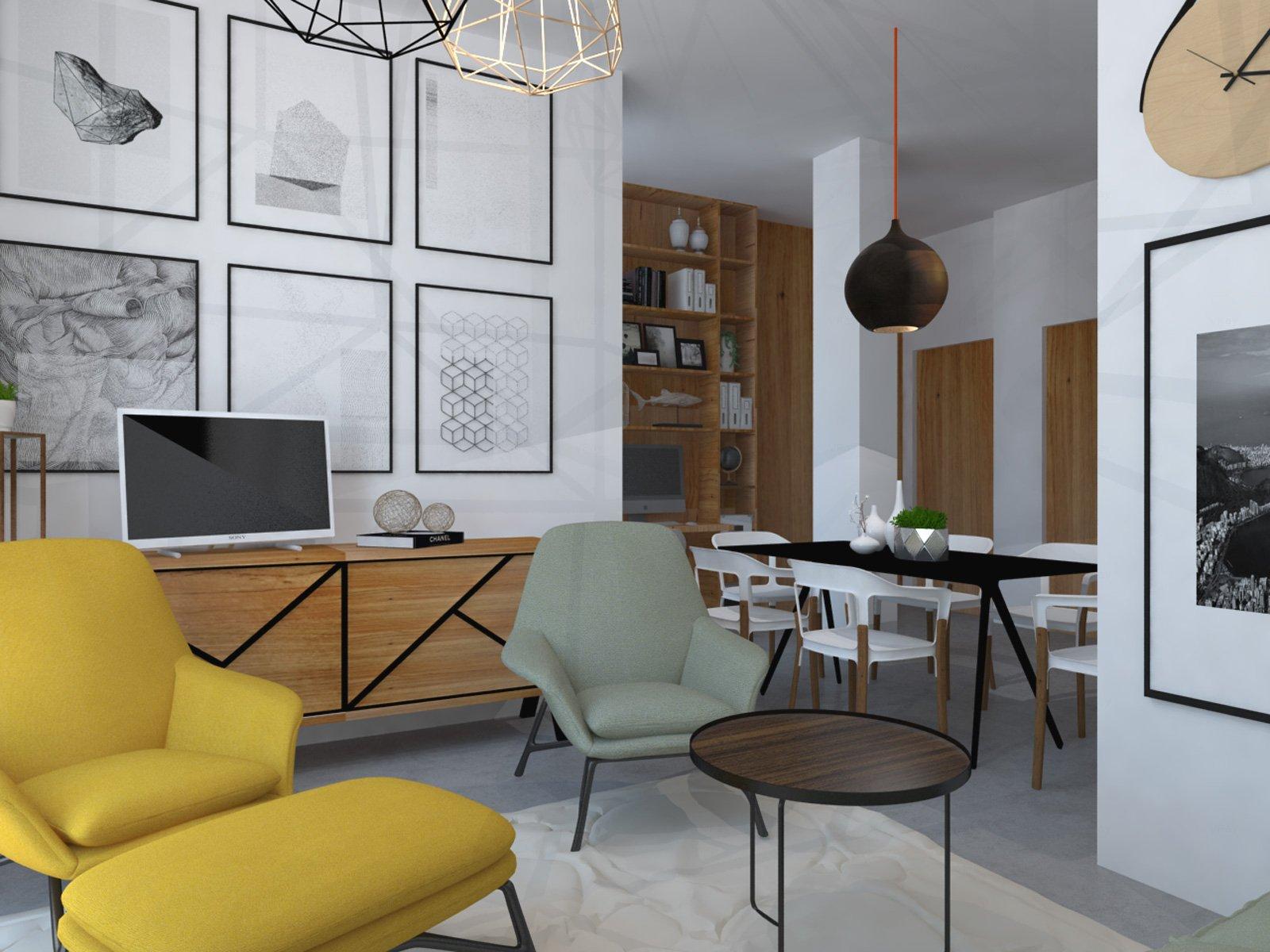 awesome soggiorno living con cucina contemporary - ideas & design ... - Soggiorno Living Con Cucina A Vista 2