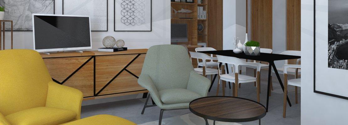 Soggiorno cucina con pilastro in mezzo come disporre l - Soluzioni cucina soggiorno ...