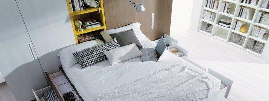 Cose di casa arredamento casa cucine camere bagno normativa - Mobili letto salvaspazio ...