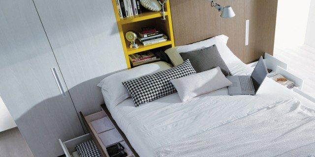 Mobili e accessori salvaspazio per la camera da letto - Cose ...