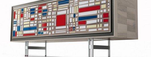 Arredare in stile Mondrian