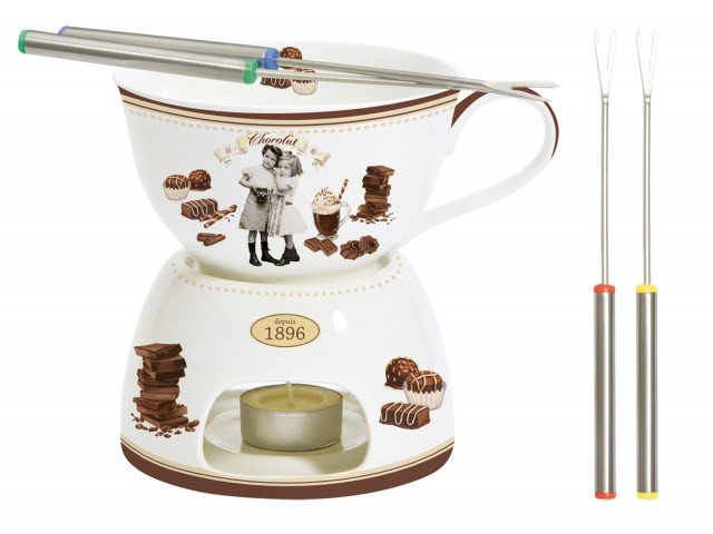 10easy-life-Collezione-VINTAGE-CHOCOLATE-Set-per-Fonduta