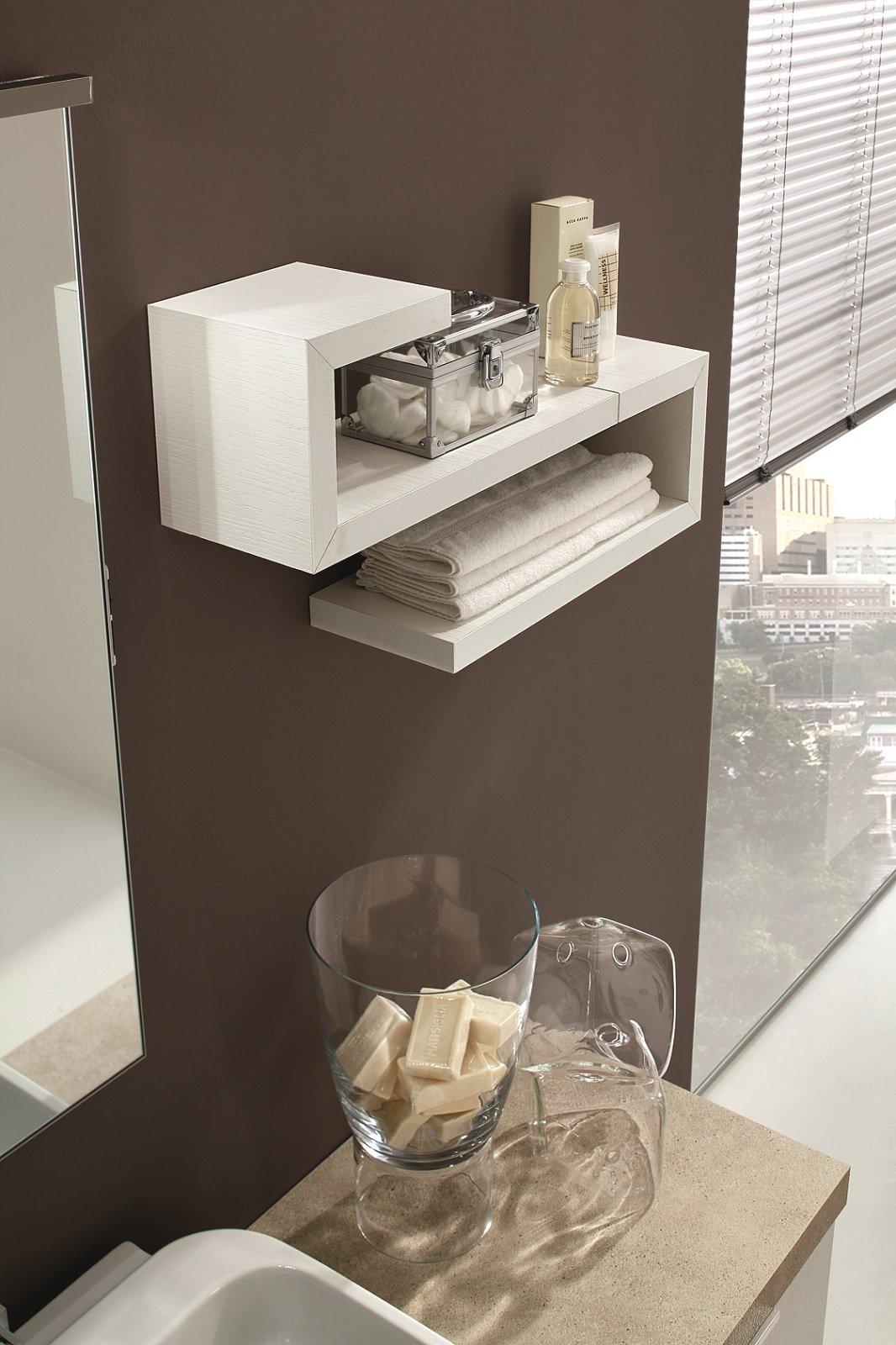 Mensole singole o in combinazioni d 39 effetto cose di casa - Mensole arredo bagno ...