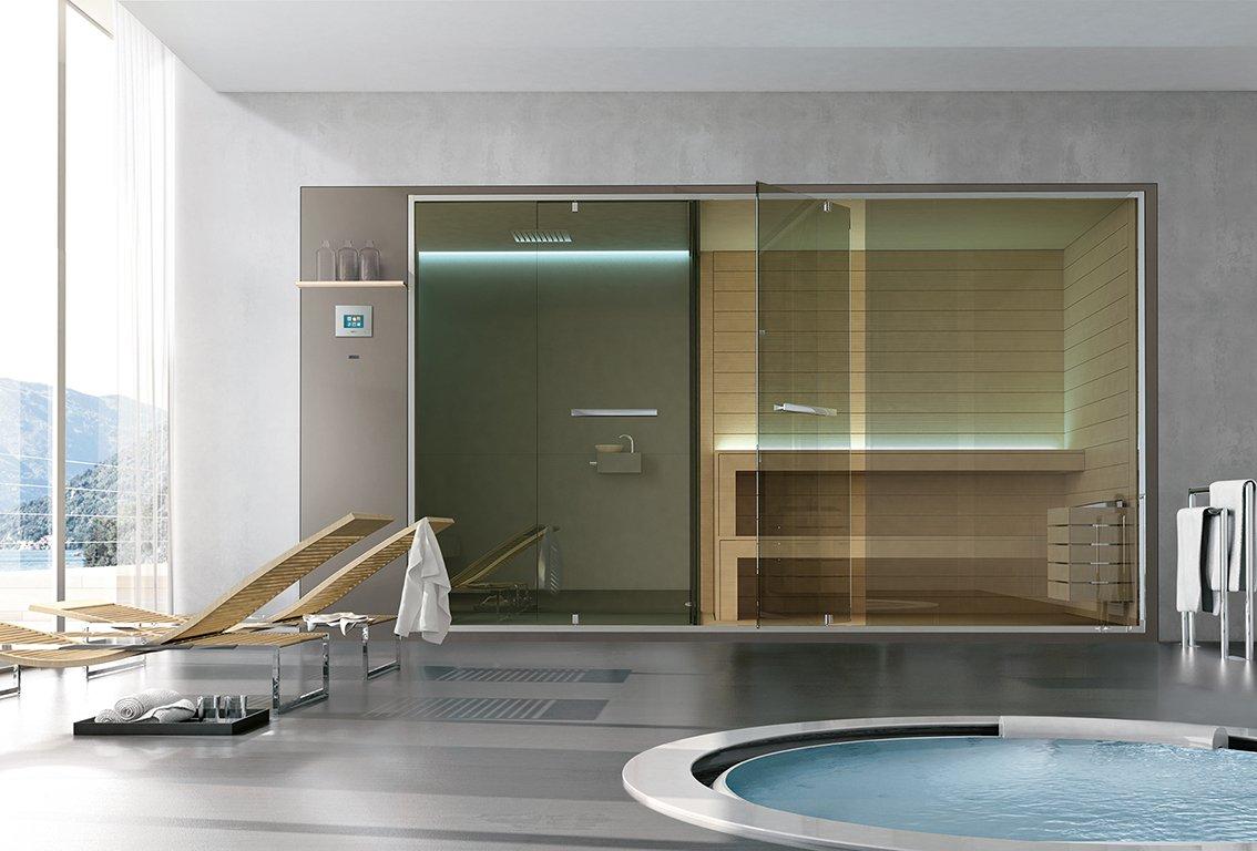 Vasca Da Bagno Hafro : Non solo sauna e bagno turco il benessere secondo hafro geromin