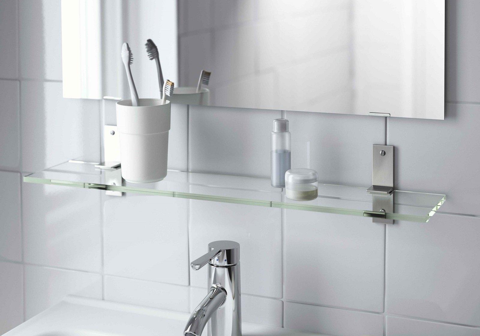 Mensole singole o in combinazioni d 39 effetto cose di casa for Mensole per doccia ikea