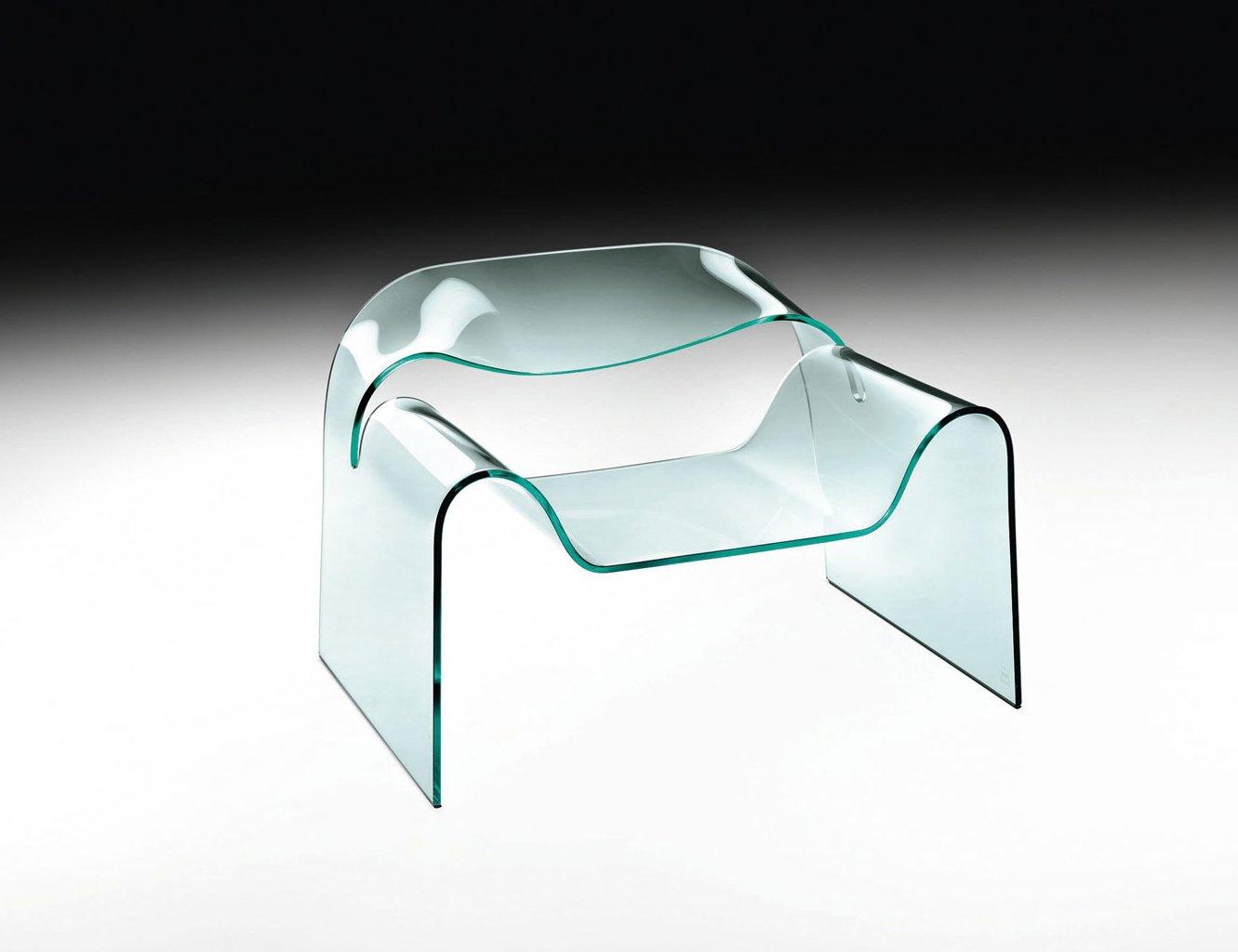 Arredi in vetro design trasparente dalla sospensione al for Oggetti design