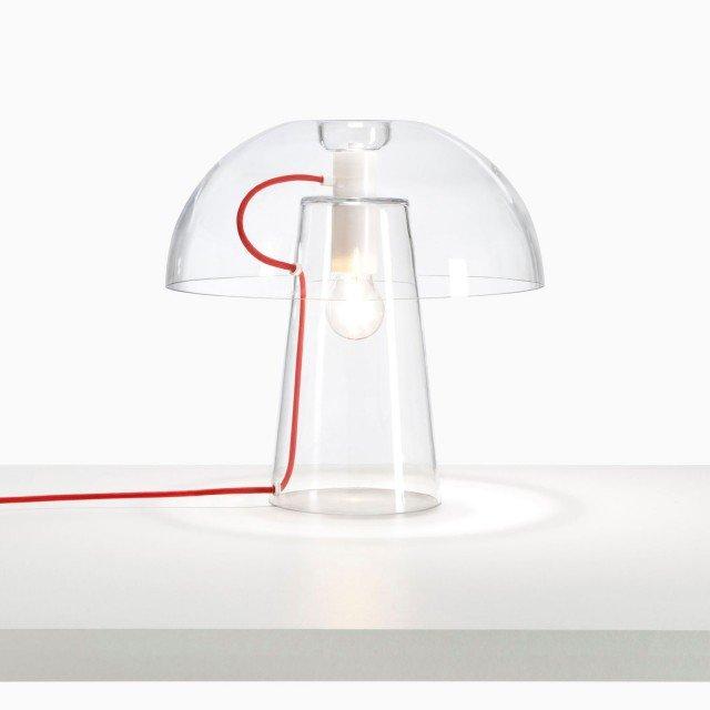 Ligne Roset Lampada Chantal : Arredi in vetro design trasparente dalla sospensione al